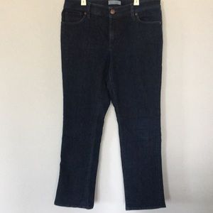 LOFT Curvy Straight Denim Jeans Size 30 / 10
